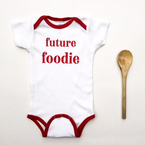 Future Foodie Onesie