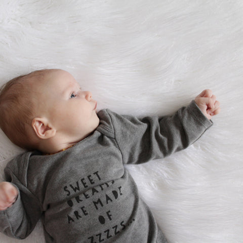 Sweet Zzzzs Baby Gown