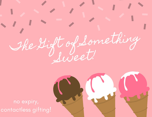 Gift Something Sweet - Gift Card