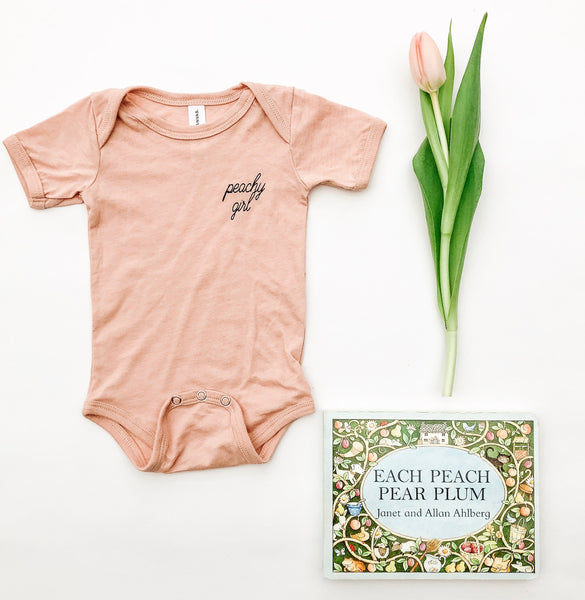 Peachy Girl Onesie