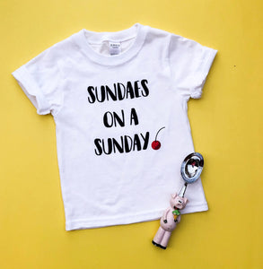 Sundaes on Sunday Tee