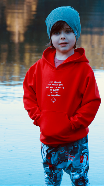 Be Sweet Be Canadian Hoodie - Children's