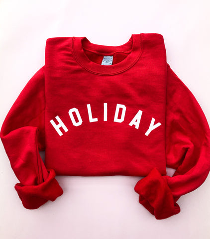 Holiday Pullover~ Adults