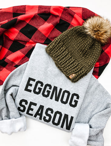 Eggnog Season Pullover- Unisex 3XL only