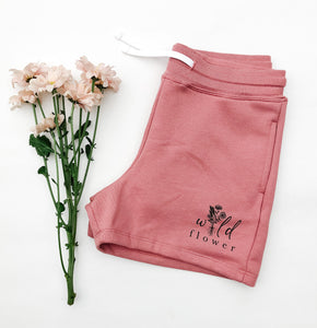 Wild Flower Ladies Shorts