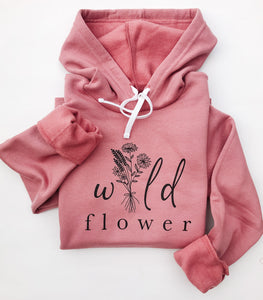 Wild Flower Hooded Sweatshirt