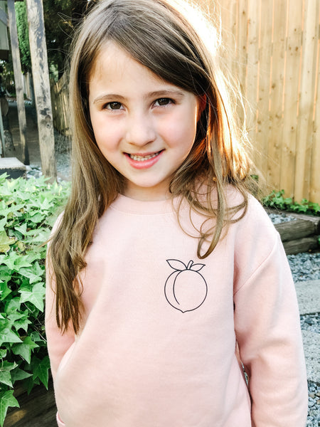 Peach Pullover ~ Children's