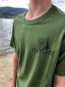 Let's Take this Outside Children's Tshirt