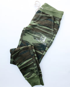 Let's Take This Outside Camo Joggers