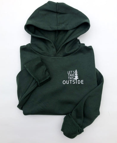 Let's Take this Outside Children's Pullover