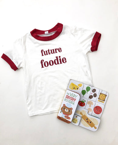 Perfectly Imperfect Future Foodie Tees - No defects
