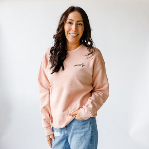 Peachy Pullover ~ Original Adult Unisex