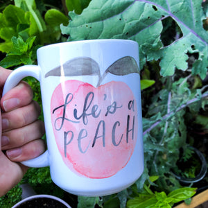Peachy Mugs