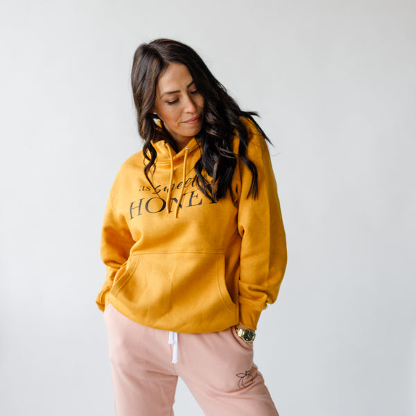 Sweet as Honey Mustard Hoody ~ Perfectly Imperfect