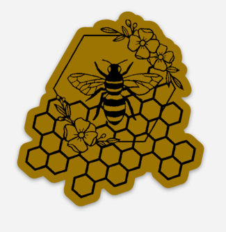 Wild Honey Vinyl Stickers