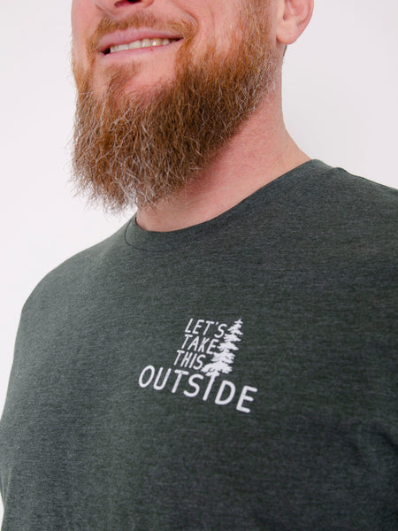 Let's Take this Outside- Adult Tee