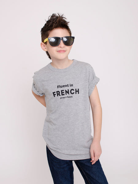 Fluent in French ~ Adult Unisex Tee