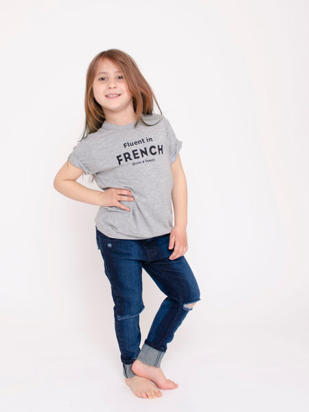 Fluent in French ~ Children's tee