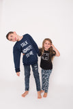 Talk Donuts to Me Navy Pullover~ Littles