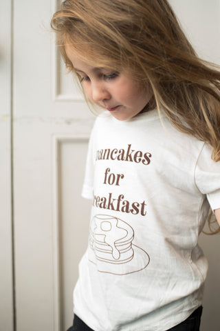 Pancakes for Breakfast Tee ~ Littles