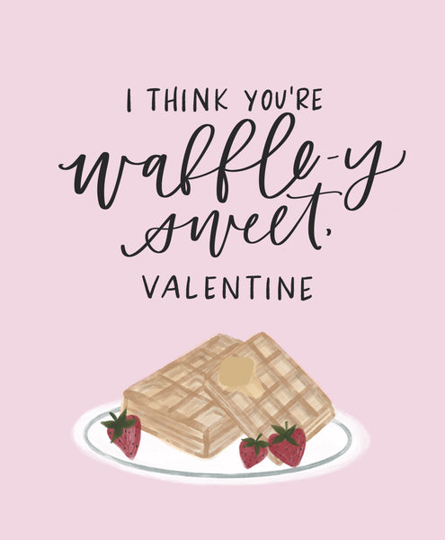 Valentines Card- Waffley Sweet