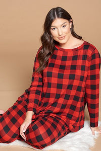 The Cozy Up Lounge Sets in Buffalo Plaid