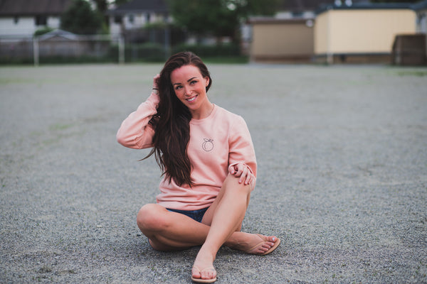 Peach Pullover ~ New Adult Unisex