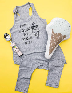 2 Scoops of Awesome! Romper
