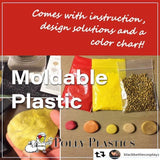 Moldable Plastic and Color Pellet Kit - Moldable plastic