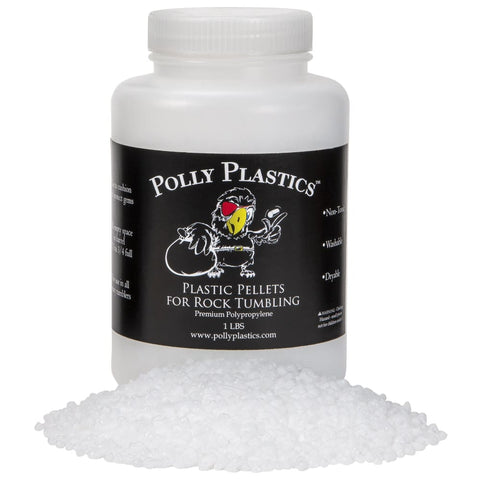 Poly Pellets Rock Tumbling Media - 1 lb. - Rock Tumbling