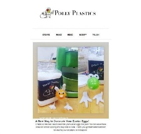 Polly Plastics Inspirational Newsletter - March 2019