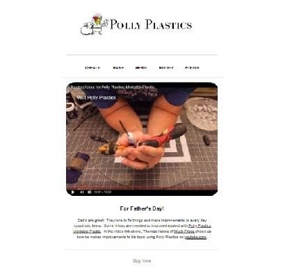 Polly Plastics Inspirational Newsletter - May 2019