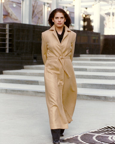 Camel Cashmere Coat Perfect First Impression