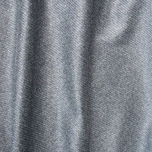 Grey striped cashmere fabric