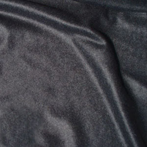 Charcoal cashmere fabric