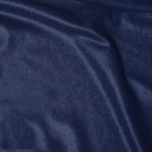 Navy cashmere fabric