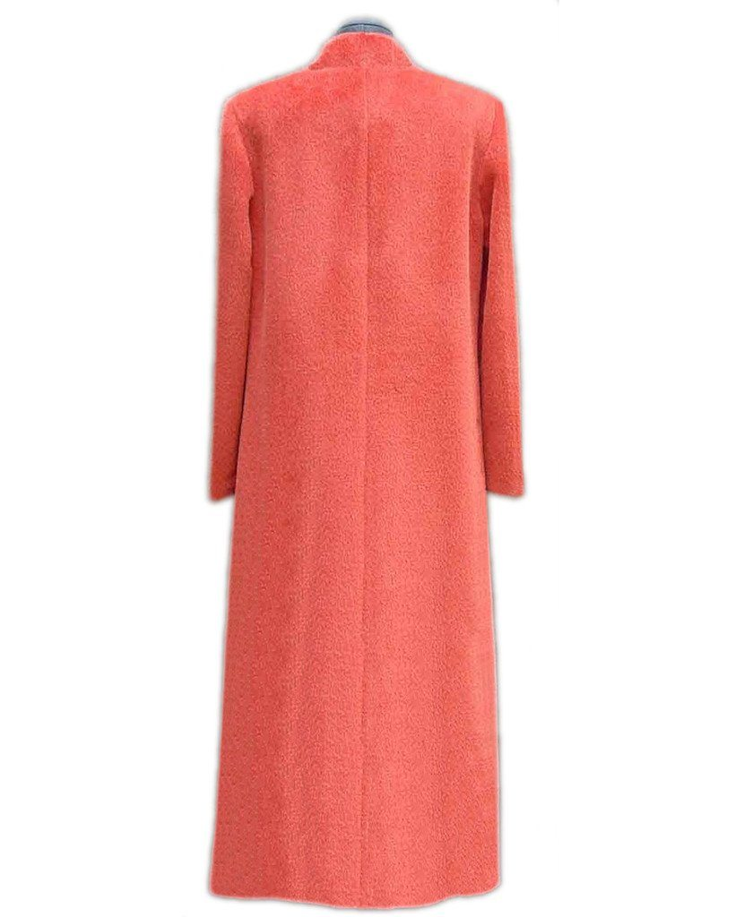 Princess cut cashmere coat. Bella