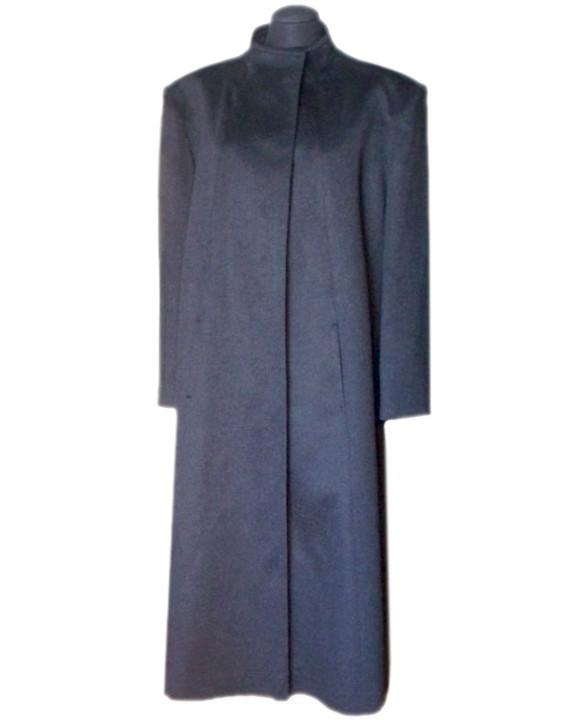 Sample cashmere coat on sale.