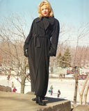Cashmere Coat with Belt - Ravissant 899