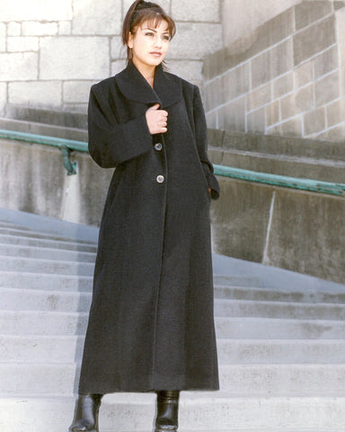 Long cashmere coat. Adore