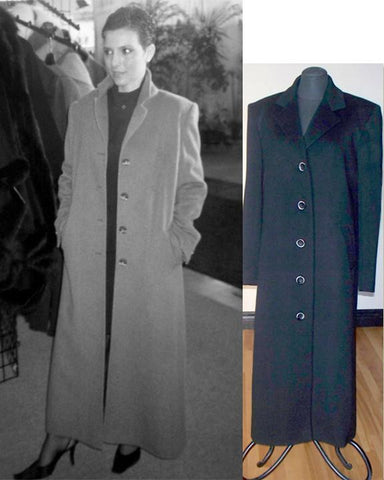 Z-Classic Cashmere Coat sample