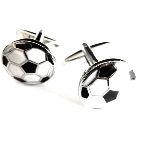 Mancuernillas de Balon Futbol  - Red Box Fashion Accessories