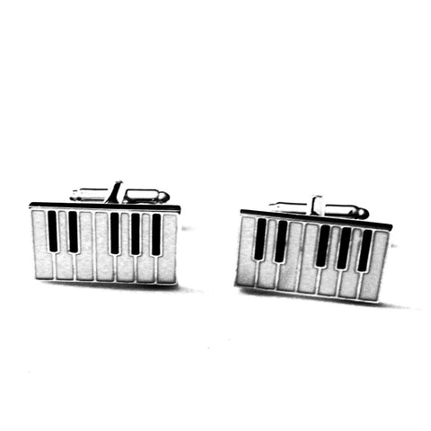 Mancuernillas de Piano  - Red Box Fashion Accessories
