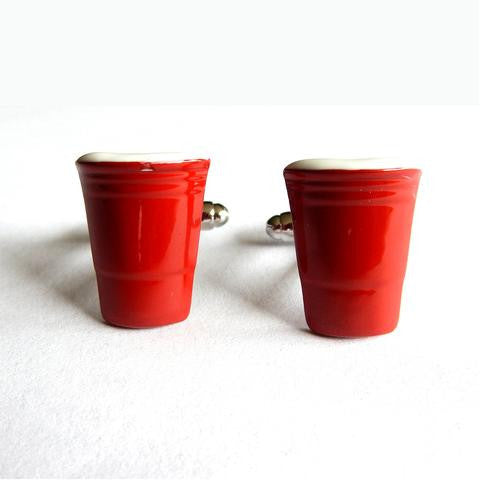 Mancuernillas de VASO ROJO  - Red Box Fashion Accessories