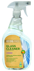 Glass Cleaner (Lavender), Earth Friendly ECOS Pro Product (32 oz)