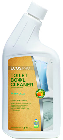 Toilet Cleaner, Earth Friendly ECOS Pro Product, 24 oz Gooseneck (6/cs)