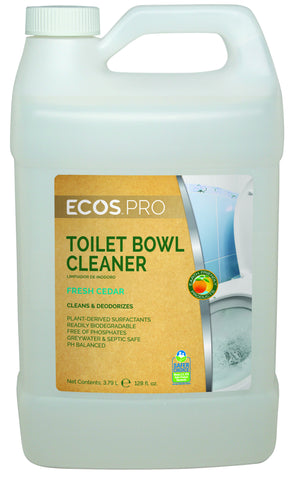 Toilet Cleaner, Earth Friendly ECOS Pro Product, 1 gal