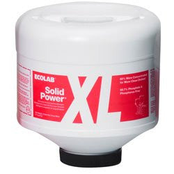 Ecolab Solid Power XL Dish Detergent, 9 lb.