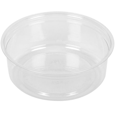 Fabri-Kal® Polypropylene Clear Deli Containers, 8 oz., 10/50/case