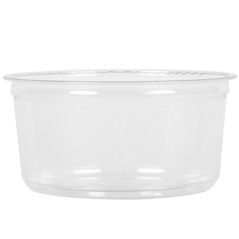Fabri-Kal® Polypropylene Clear Deli Containers, 12 oz., 10/50/case